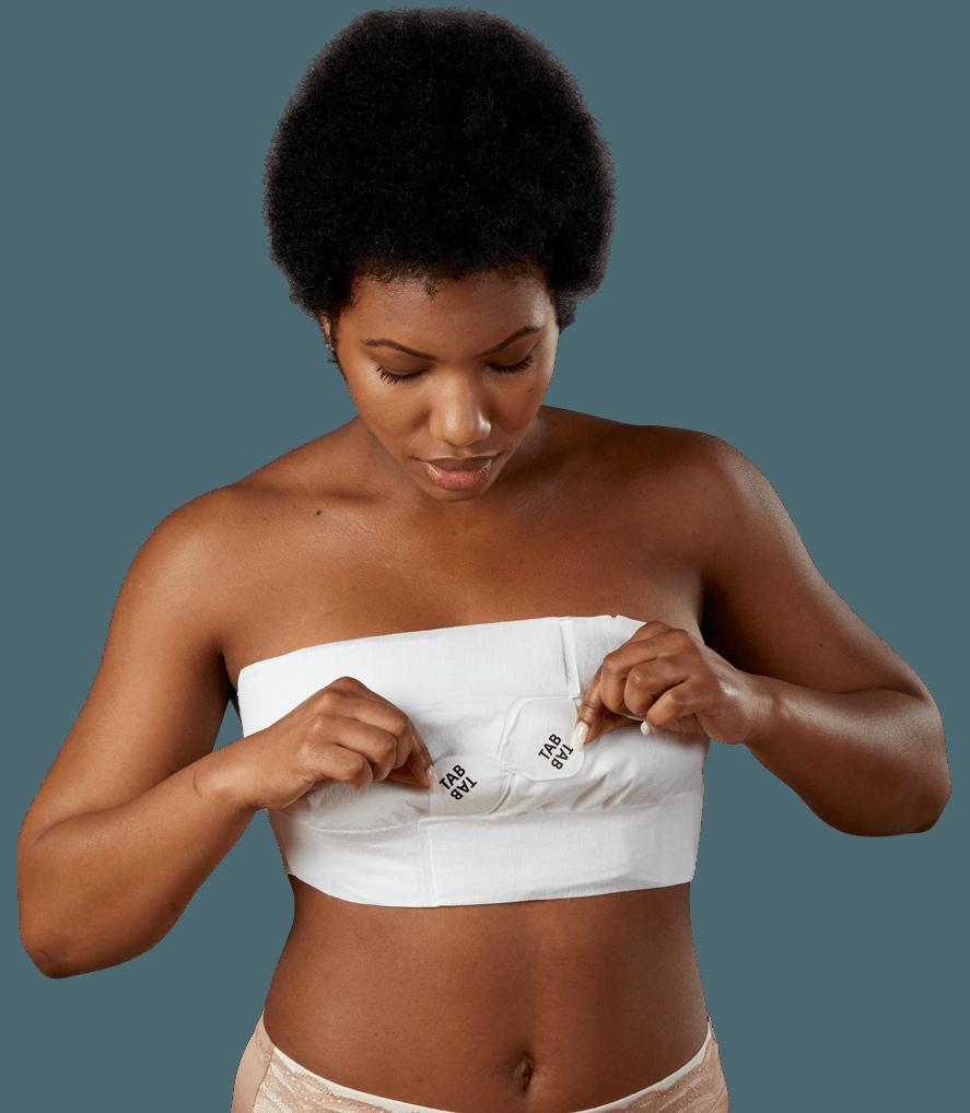 Woman adjusting her EZBRA