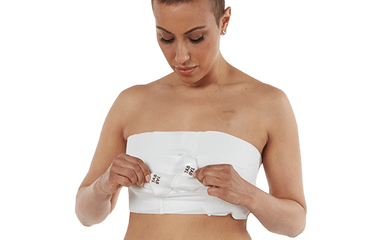 Woman adjusting her EZBRA